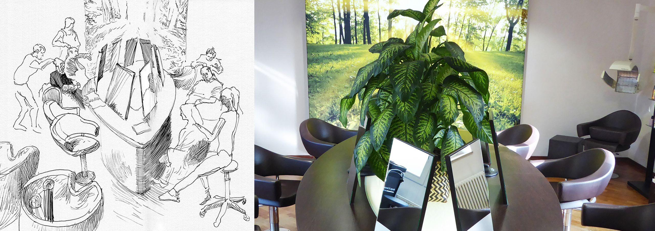 Ihr Friseur Team Udo Böing Design Konzept